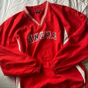 Vintage Sports Authority Angels Wind-Breaker